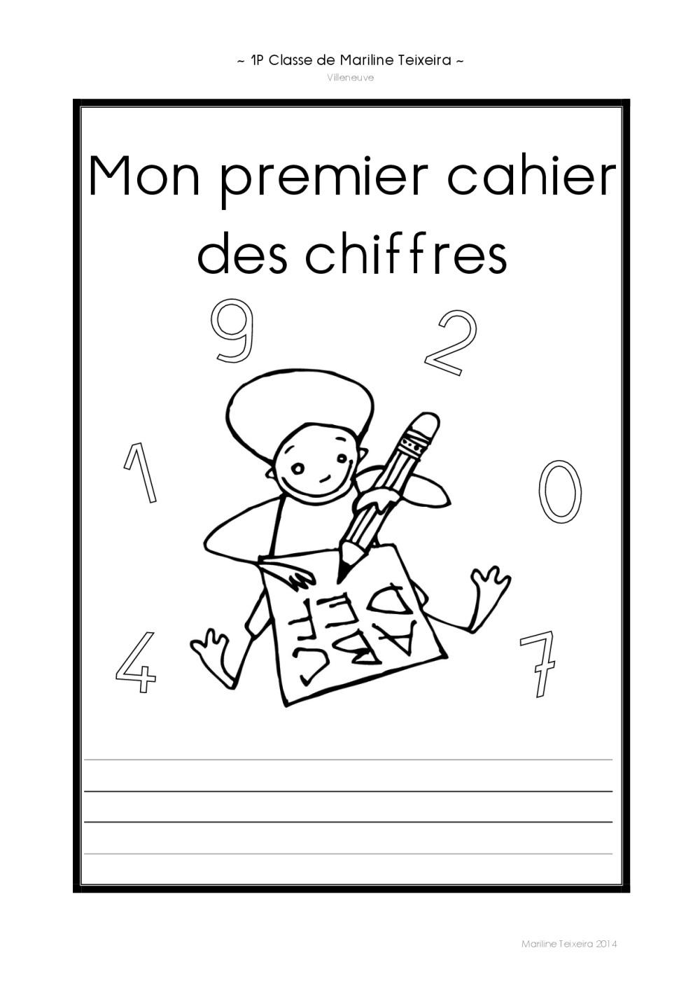 Extrêmement Cahiers graphisme chiffres | BDRP NU33