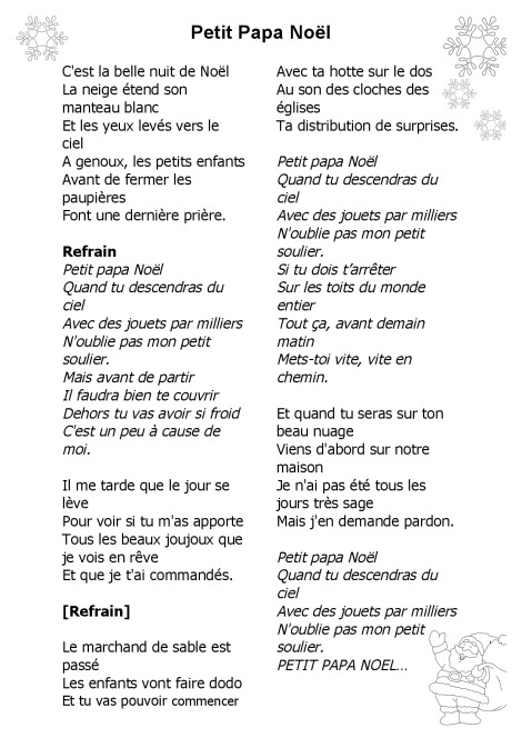 paroles chants de noel Paroles chansons de Noël | BDRP paroles chants de noel
