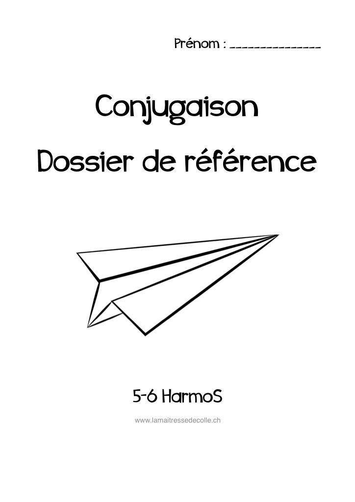 Conjugaison Bdrp