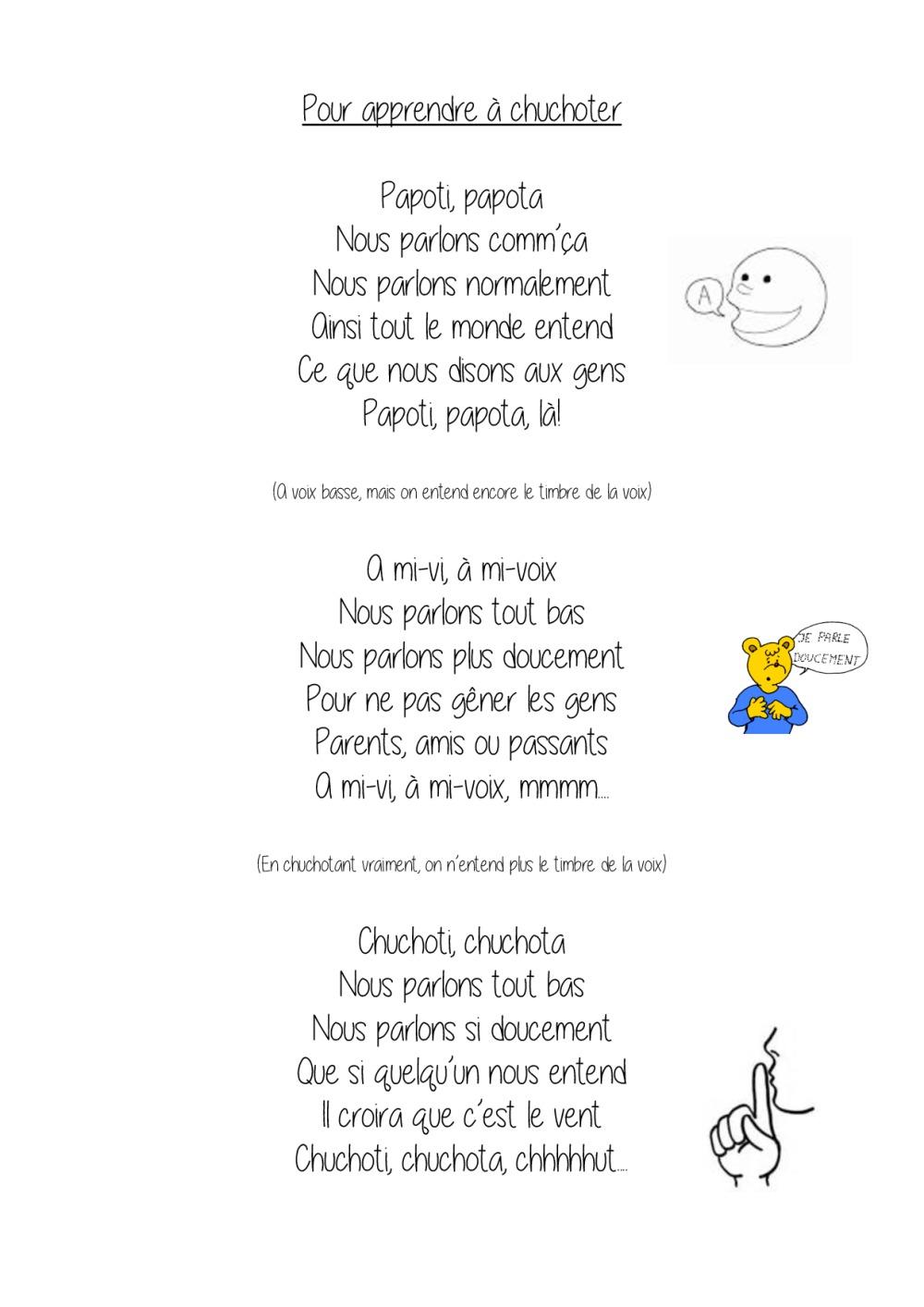 Favorit poésie pour apprendre à chuchoter | BDRP PP61