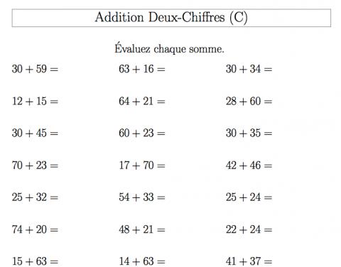 Exercices De Mathematiques A Imprimer Bdrp