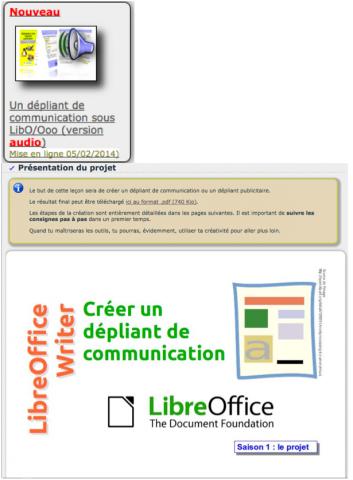 R aliser un d pliant de communication avec libreoffice - Realiser un organigramme open office ...